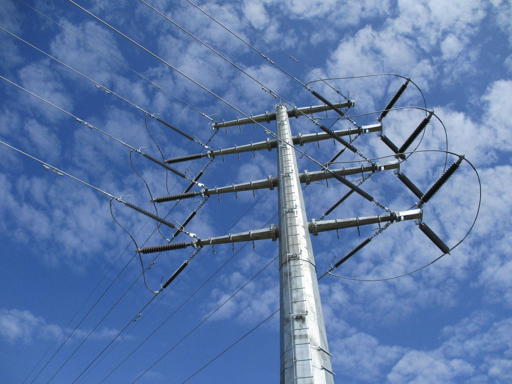 Lattice Type Towers For Power Transmission And Distribution Project