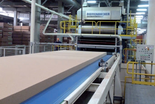 North Africa's first continuous wood-based panel plant nears completion