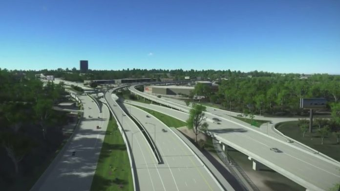 Oak Hill Parkway infrastructure project