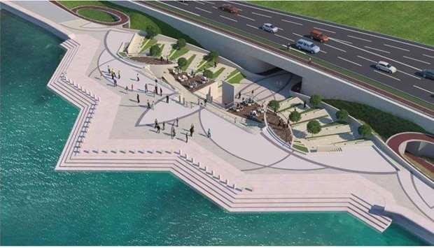 Beautification of Doha Central