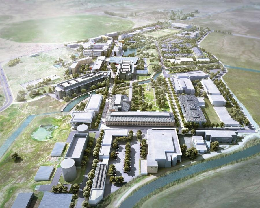 Largest P3 Social Infrastructure Project Uc Merced 2020 In Us History Completed