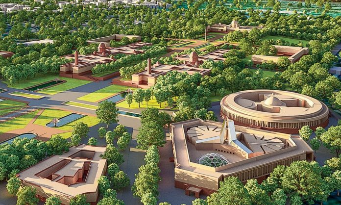 New Indian parliament building