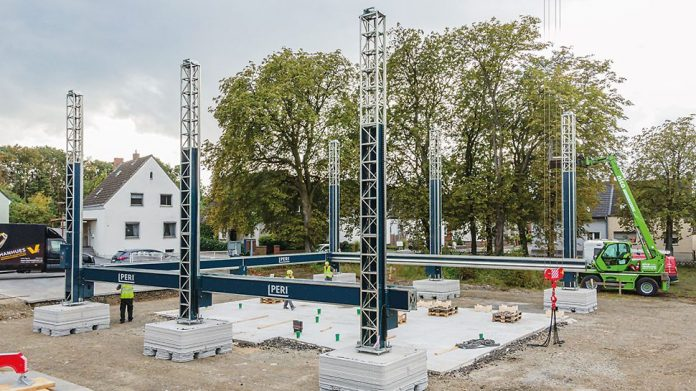First 3D-printed residential building under construction in Germany