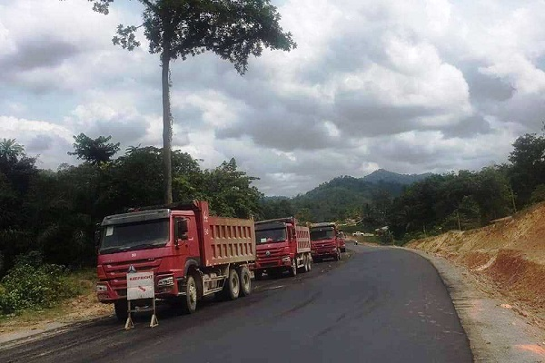 Karloken-Fish Town Road construction in Liberia nears completion