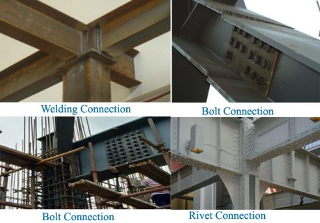 steel structure building connection