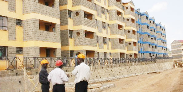 affordable housing project in Nairobi