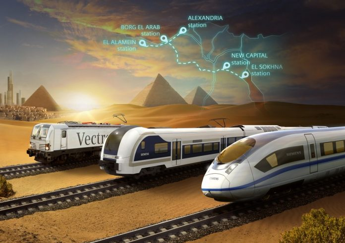 first ever high-speed rail system in Egypt