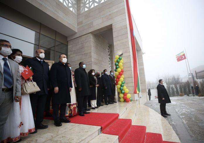 New Ethiopian Embassy building Ankara