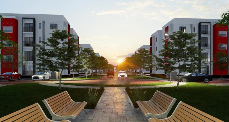 Universal one, a 576-unit apartment complex, to be developed at Alaro City