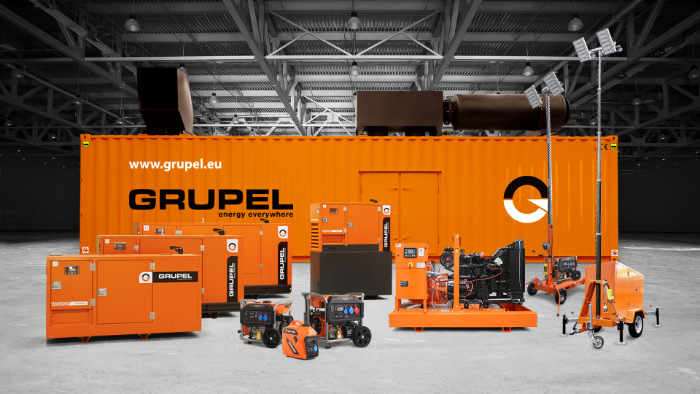 Grupel: the leading manufacturer and commercialization of a wide range of generators