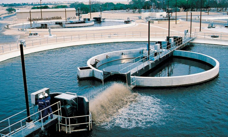 Manfalout sanitation plant in Egypt commences its trial operation