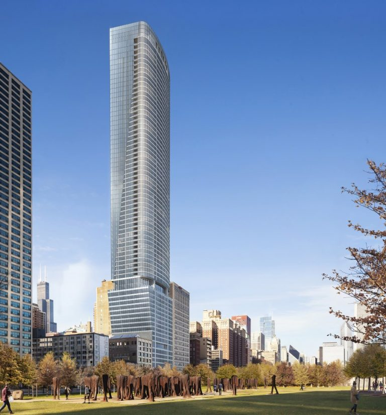 Construction of 1000M tower in Chicago, US to continue